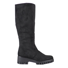 Filippo Boots On Platform black