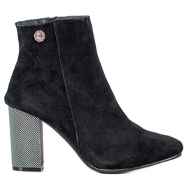Goodin Leather Ankle Boots black
