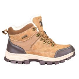 Arrigo Bello Lace-up winter boots brown