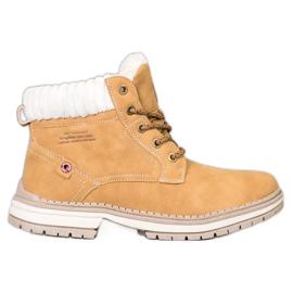 Arrigo Bello Fashionable Trappers yellow