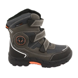 American Club Boots with American HL23 membrane gray