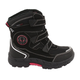 American Club American HL23 black boots with a membrane