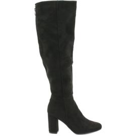Filippo 383 boots over black