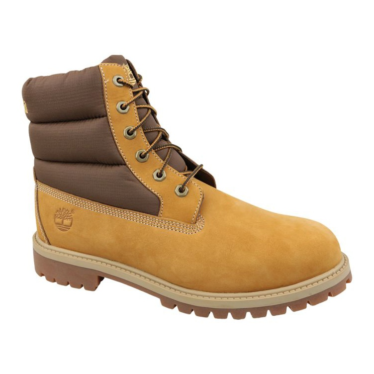 Timberland 6 In Quilit Boot Jr C1790R winter boots brown