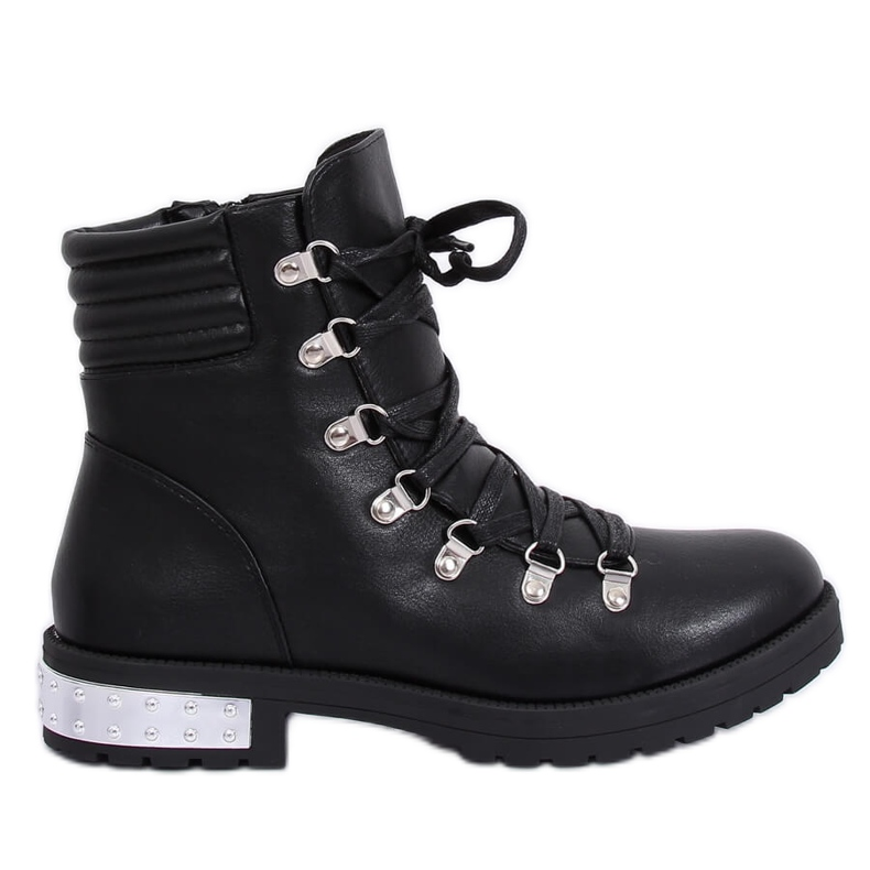 Black boots for women Y8182 Black