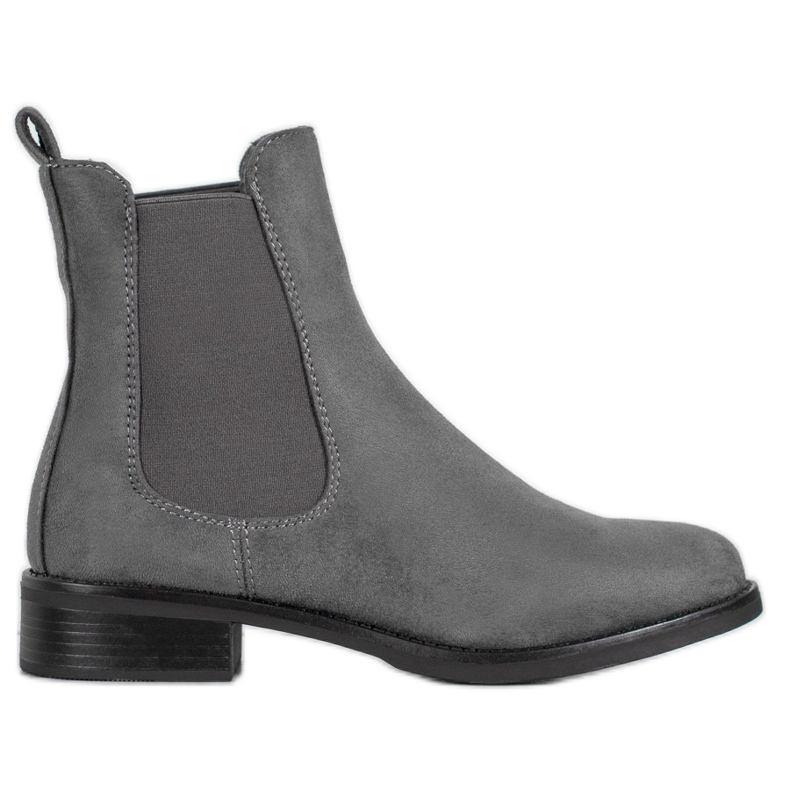 SDS Suede Chelsea boots grey