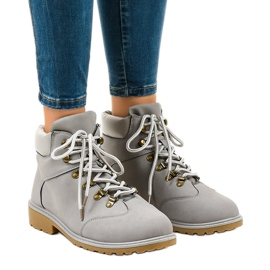 Gray hiking boots without insulation XDS1702 grey