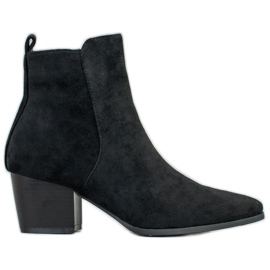 Filippo Stylish Ankle Boots black