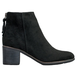 Goodin Black Suede Boots