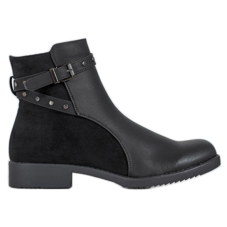 J. Star Warm black boots