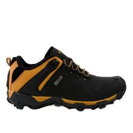 Black trekking shoes MXC-6645