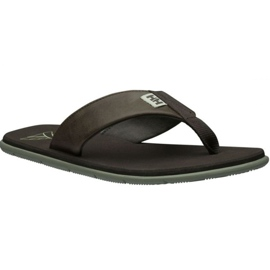 Helly Hansen Seasand Leather Sandal M 11495-713 slippers brown
