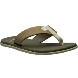 Helly Hansen Seasand Leather Sandal M 11495-723 slippers brown