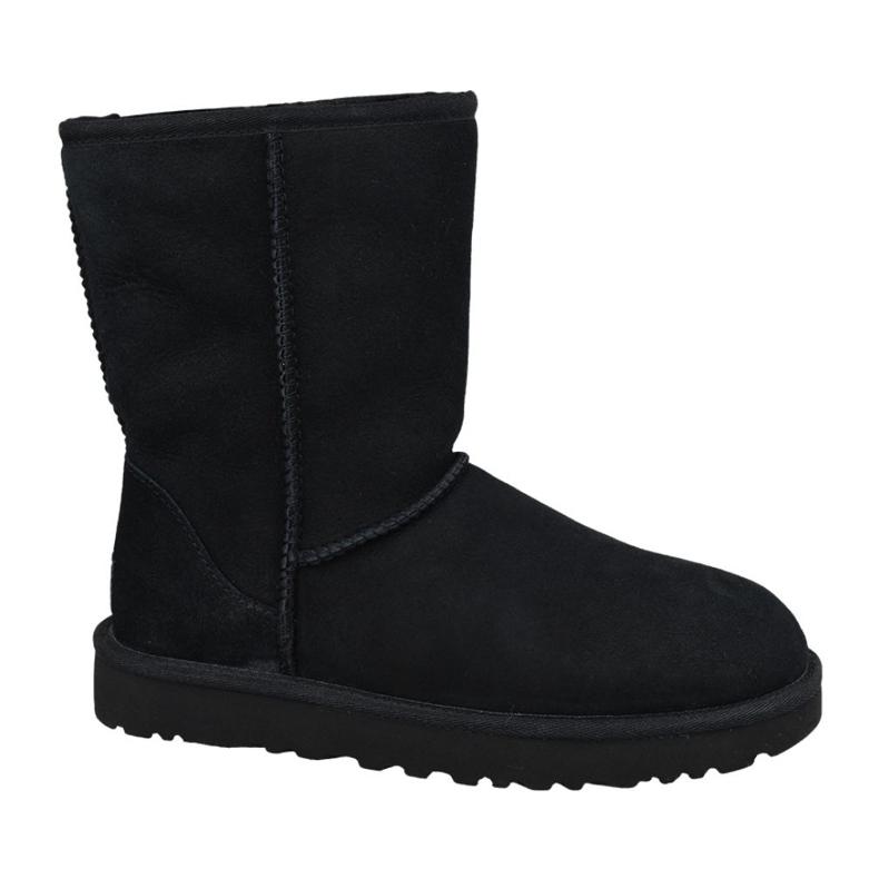Ugg Classic Short Ii W 1016223-BLK black