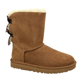 Ugg Bailey Bow Ii W 1016225-CHE shoes brown