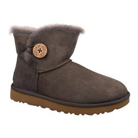 Ugg Mini Bailey Button II Shoes W 1016422-MOLE brown