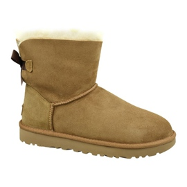 Ugg Mini Bailey Bow Ii W 1016501-CHE Shoes brown
