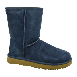 Ugg Classic Short II Shoes W 1016223-NAVY