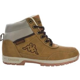 Kappa Bright Mid Jr 260239T 4141 shoes brown