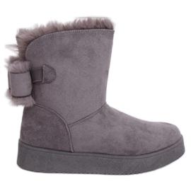 Snow boots emusy gray LV70P Gray grey