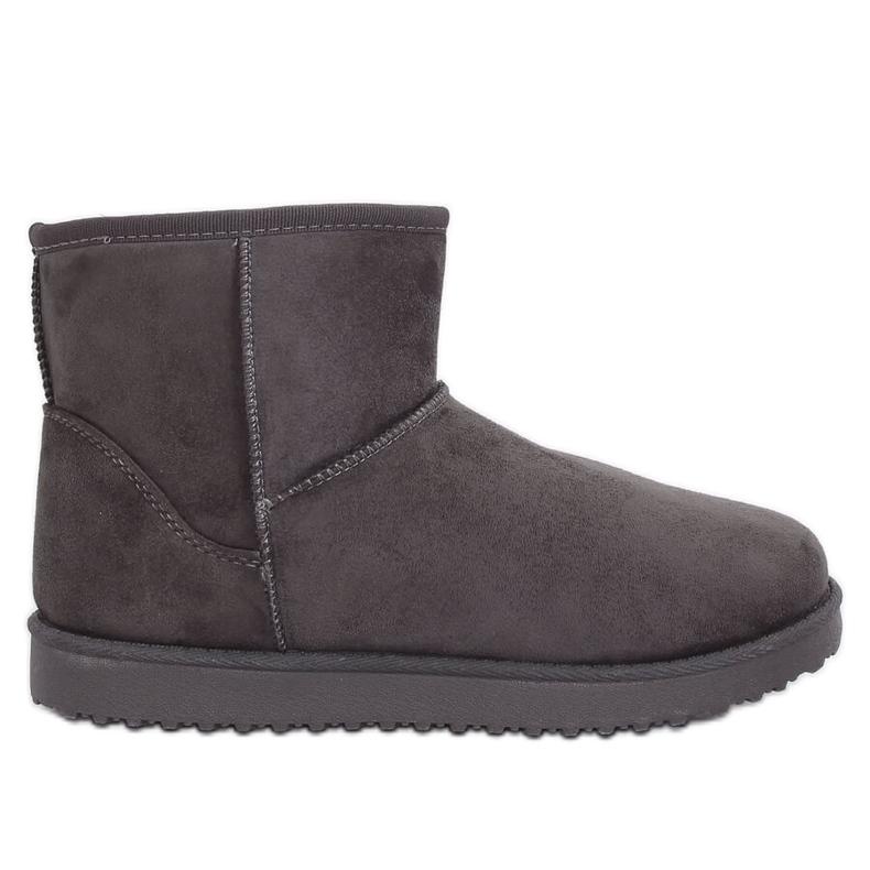 Emusy gray snow boots LV56P Gray grey