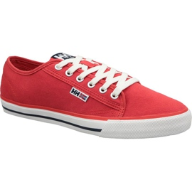 Helly Hansen Fjord Canvas Shoe V2 M 11465-216 shoes red