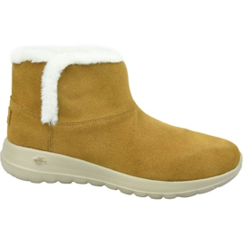 Skechers On The Go Joy Bundle Up W 15501-CSNT Shoes brown