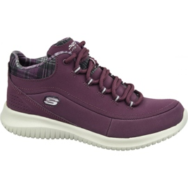 Skechers Ultra Flex W 12918-BURG shoes violet