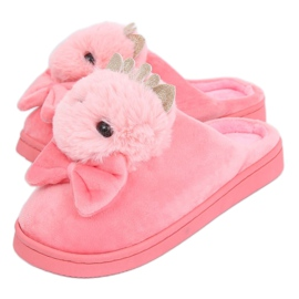 Women's slippers bright pink DD112 Lightpink
