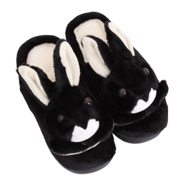 Black MA17 Black women's slippers