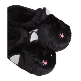 MA16 Black women's slippers Black