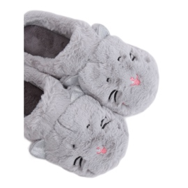 Gray Women's slippers MA16 Gray grey