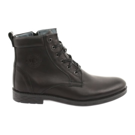 High boots with zipper Riko 884 black