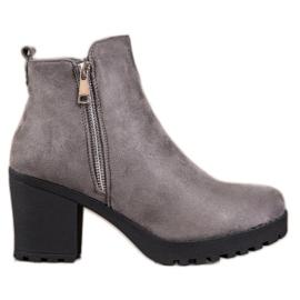 Seastar Fashionable Gray Boots grey