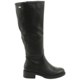 Boots on the thick bottom Sergio Leone 280 black