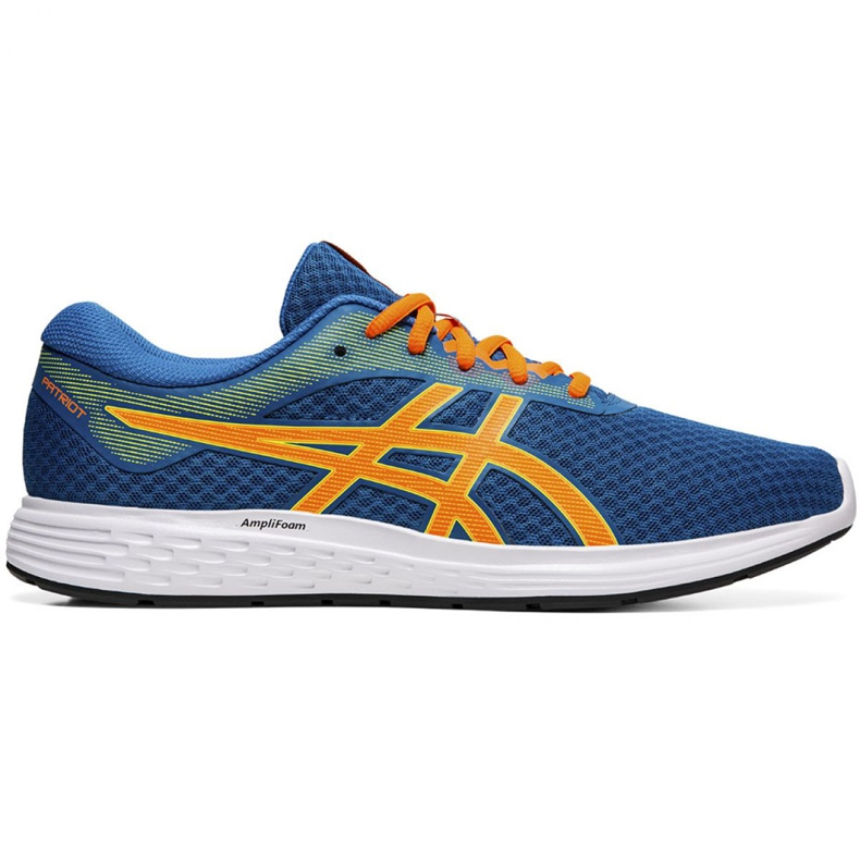 Asics Patriot 11 M 1011A568 401 running shoes blue