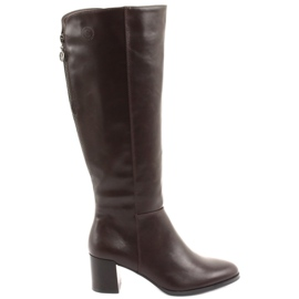 Brown Sergio leone boots