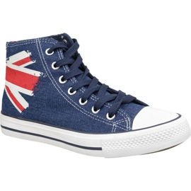Lee Cooper High Cut 1 LCWL-19-530-041 shoes blue