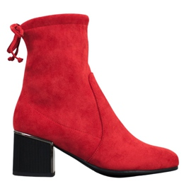 Goodin Stylish Red Boots