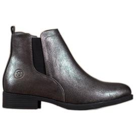 Sergio Leone Silver Jodhpur boots grey