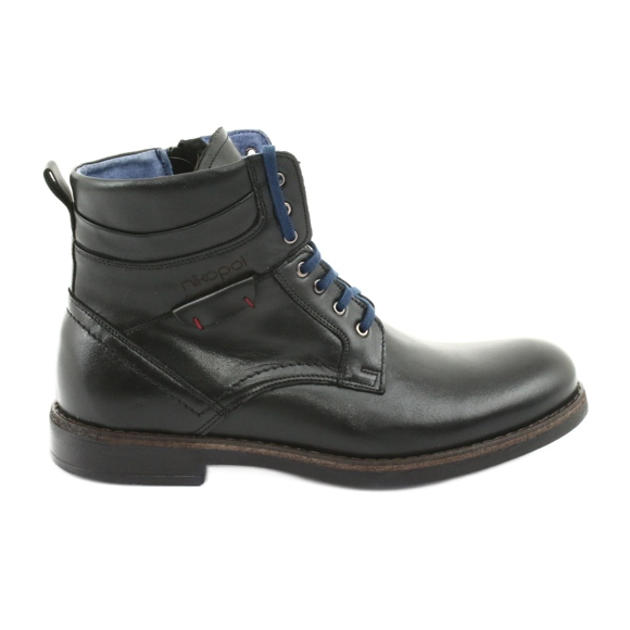 Nikopol 700 zipper black boots