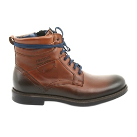 Nikopol 700 zipper brown boots