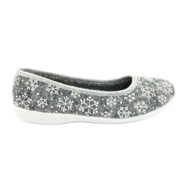 Adanex 24213 snowflake felt slippers