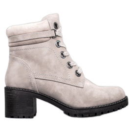 Goodin Insulated Ankle Boots grey