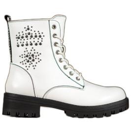 Goodin White Boots