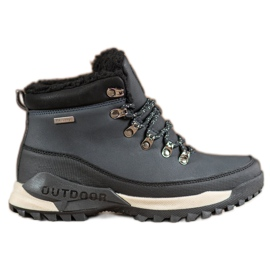 Ax Boxing Navy Blue Trappers
