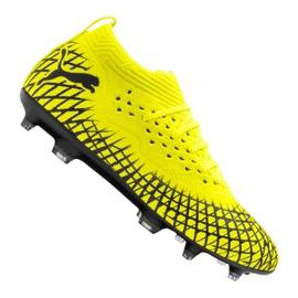 Puma Future 4.2 Netfit Fg / Ag M 105611-03 football boots yellow yellow