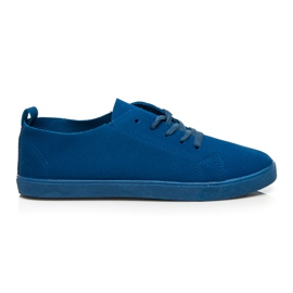 SDS Lace-up sneakers blue