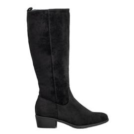Filippo Classic Suede Boots black