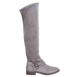 Kylie High Heels grey